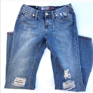 Mossimo distressed jeans !!!